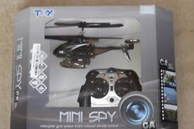Spy Helicopter *Christmas Present* - 3.5 Channel Infrared Controlled with Gyro and Camera