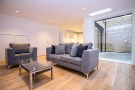 ** BRAND NEW LUXURY 3 BED TERRACE HOUSE WITH GARDEN AND TERRACES NEAR KINGS CROSS, WC1 - AW
