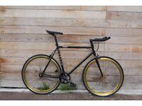 Christmas Sale GOKU Cycles Steel Frame Single speed road bike TRACK bike fixed gear bike 199