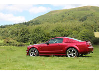 2005 Ford Mustang S197 with Shelby Roush Ford Racing Parts
