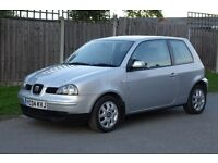 Seat Arsoa S 2004 1.0 Petrol. Silver, Good Condition, Long MOT.