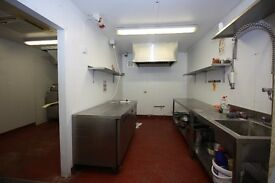 A great kitchen for someone starting a new business, From only £3 per hour + VAT Including bills!!!