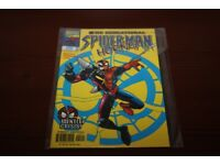 The Sensational Spiderman Hornet Marvel Comic Book
