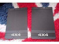 pair of Large 4x4 mudflaps