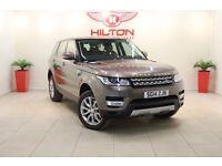 Land Rover Range Rover Sport 3.0 SD V6 HSE Station Wagon 4x4 5dr (start/stop) (bronze) 2014