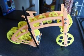 BICYCLE GEAR CLOCK.