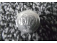 NHS 50P COIN