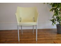 Kartell Dr No pale green chair by Phillippe Starck