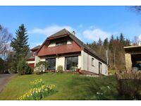 Stunning spacious 5 bedroom, 4 bathroom fully furnished detached house close to Fort William