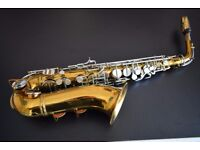 Vintage Boosey & Hawkes Alto Saxophone