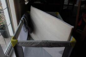 Baby Start travel cot and mattress