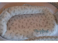 Sleepy head deluxe - baby pod with additional cover, and comes with free boppy pillow