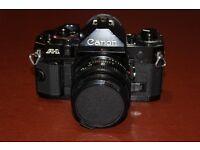 Canon A1 35mm camera