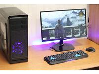 Phoenix Hero Gaming PC Quad Core 8GB Ram Nvidia GTX HD Graphics