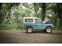 "Land Rover Series 3 88"" 1973 Tax Exempt"