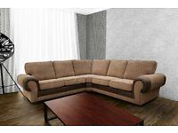 Tango sofa's***Large, cord fabric sofas**universal corners, left and right hand corners & 3+2 sets