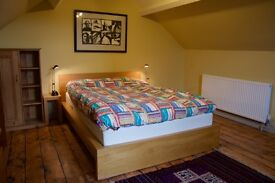 SPACIOUS & LIGHT ATTIC ROOM AVAILABLE. Quiet residential area close to Shrewsbury town centre.