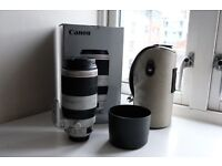 Canon EF 100-400mm f/4.5-5.6L IS II USM - mint condition in box, including original accessories