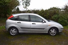 Ford Focus Zetec. For sale for spares or repairs
