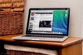 Macbook Pro Retina 2015 , 13 inch , i5 - 8 GB - 128 GB . Office , logic pro , final cut