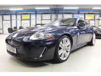 Jaguar XKR Supercharged (indigo blue) 2011