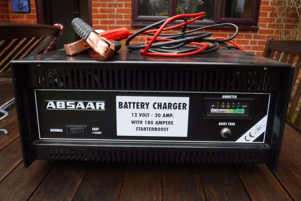 Absaar  Amp Car Battery Charger