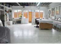 372 sqf ARTIST STUDIO / WORKSHOP SPACE / STUDIO / £450.00 per month overview the river