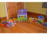 Little People dolls house with 5 sounds