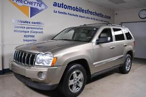 Jeep Grand Cherokee Limited 2005 Cuir Toit ouvrant