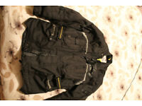 G-Mac Pilot Urban Armour Textile Motorcycle Jacket XL