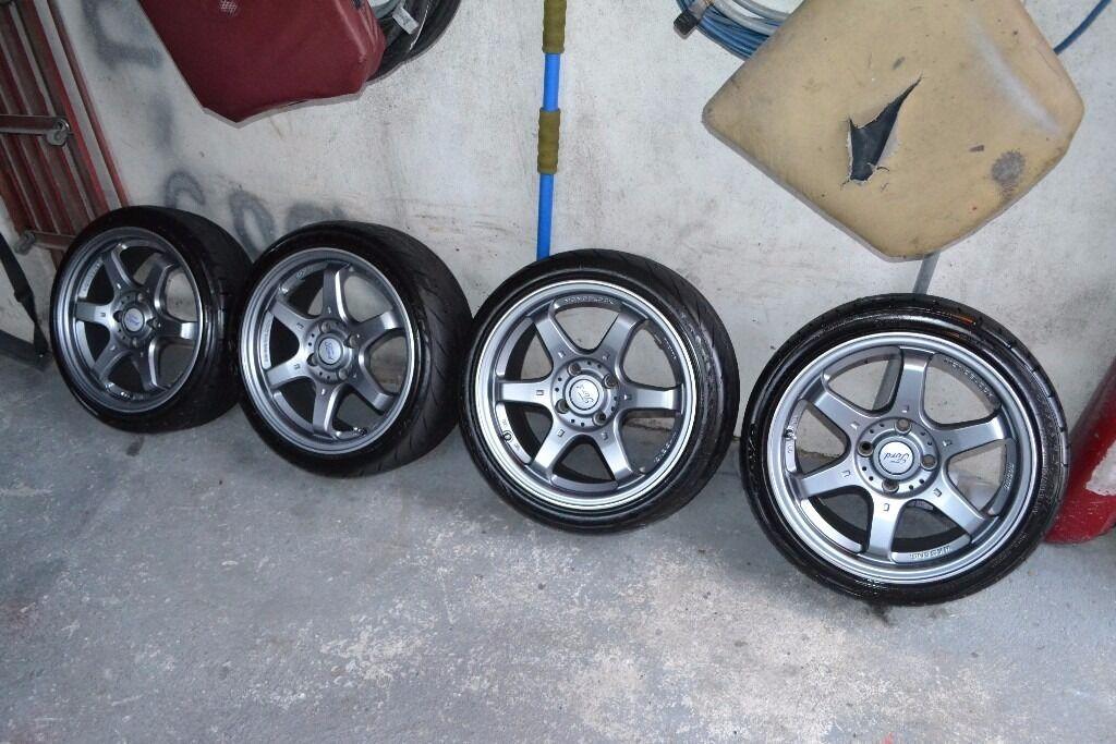 Fox MS006 4X108 Fitment. 16x7 Ford, Peugeot, Citreon, Audi ...