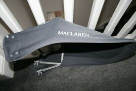 Maclaren Major buggy HOOD / SUN CANOPY - grey charcoal CAN POST