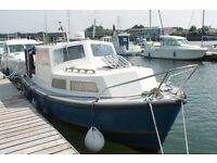 Channel Island 22, lovely classic Cabin Cruiser, Ford Mermaid 140 Hp Turbo diesel.