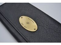 Mulberry Textured-leather continental wallet - Purse