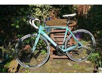 Bianchi Via Nirone 7, Xenon, great condition, classic colour scheme! 53cm frame.