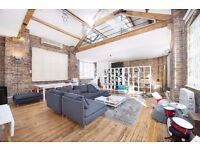 AMAZING 2 DOUBLE BEDROOM WAREHOUSE APARTMENT! 1000sqft, EXPOSED BRICK, MINUTES FROM CHALK FARM TUBE!