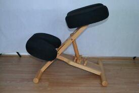 Posture Wooden Kneeler Chair