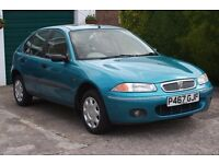 1997 Rover 214 si. 16v. 5 door. Low mileage and excellent condition.