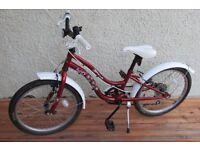 Girls bike age 7-10