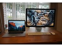 Complete Apple Mac Setup - MacBook Pro, Thunderbolt Display, Keyboard and Mouse