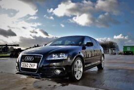 2010(60) Audi A3 2.0TDI 170 Quattro S-Line. FASH, New Tyres, Cambelt√ MOT √ Service √