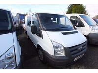 FORD TRANSIT 85 T-280 (FACTORY FITTED SEATS) CREW VAN – 10-REG