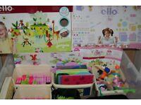 Large ELLO creation system construction kit bundle - including jungala & fairytopia