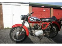 BSA C15 Classic Motorcycle for restoration