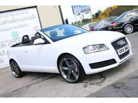 2010 AUDI A3 1.6 TDI 103BHP TECHNIK CABRIOLIET!!SPECIAL EDITION!! 2DR (FINANCE & WARRANTY AVAILABLE)