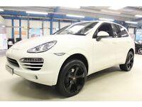 Porsche Cayenne D V6 TIPTRONIC S [SAT NAV / 22''s / LEATHER] (sand white) 2011