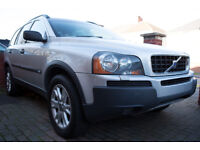 2005 Volvo XC90 T6 2.9 Twin Turbo 4x4 RARE CAR 7 SEATER BARGAIN AUTOMATIC Luxury Spec Silver Sat Nav