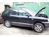 Hyundai Sante Fe spares or repairs