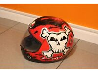 AGV KINETIC URBAN DEFENCE Motorcycle Helmet Size Medium 57-58
