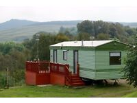 Caravan for sale with stunning picturesque views